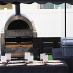 Cathedral City CA traveling wood fired pizza brick oven